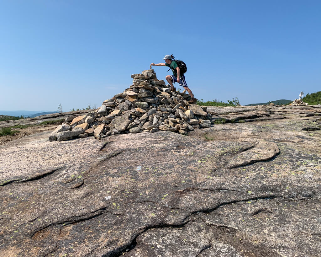 Mike Baldface Mtn Cairn