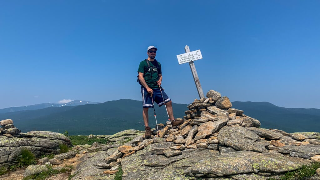 Mike at Baldface Mtn Summit